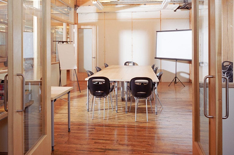 Meeting room in CSI Spadina
