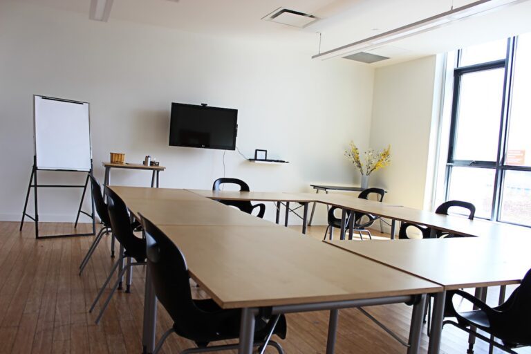 Orange Classroom, a meeting room in CSI Regent Park